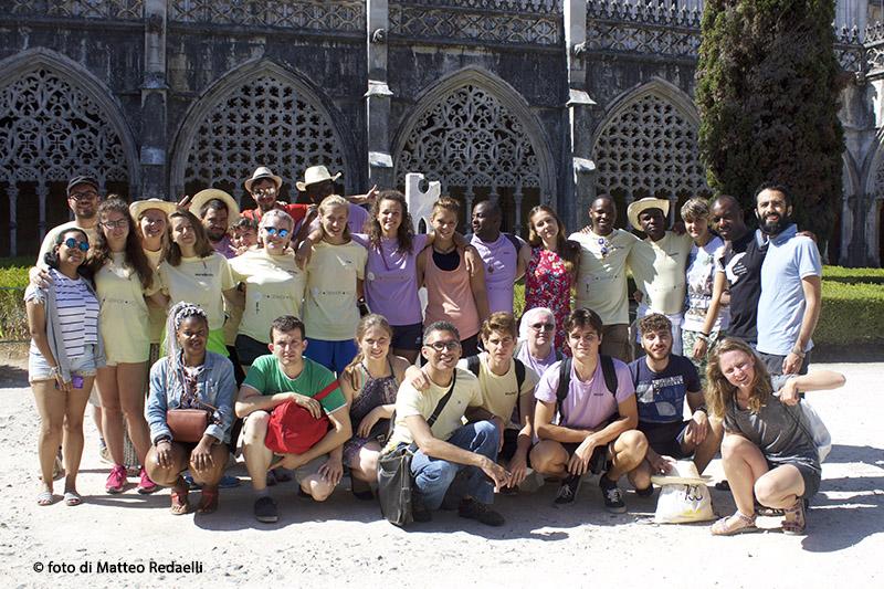 Foto di gruppo a Batalha_sm